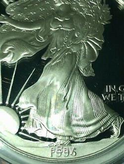 Silver Eagles Date / Run Signé Par Mercanti, Pf70dcam, 1986-2020 Et 1995w